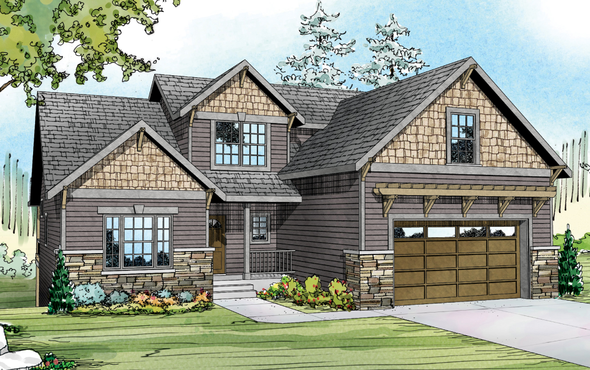 Brookville 30-928 - New House Plan - Cottage Home Plan