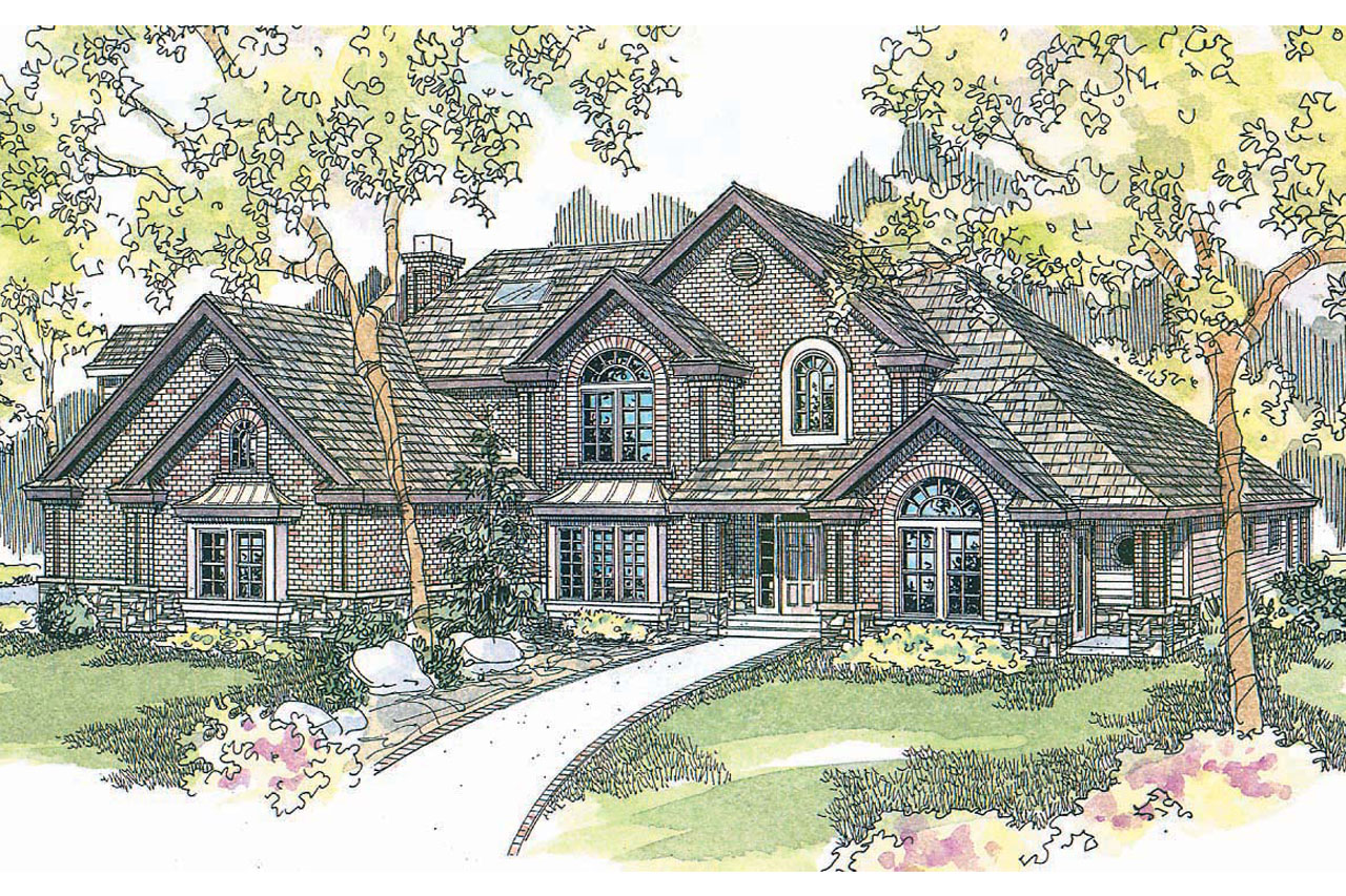 Classic house plans bellingham 30 429 associated designs for Classic house design