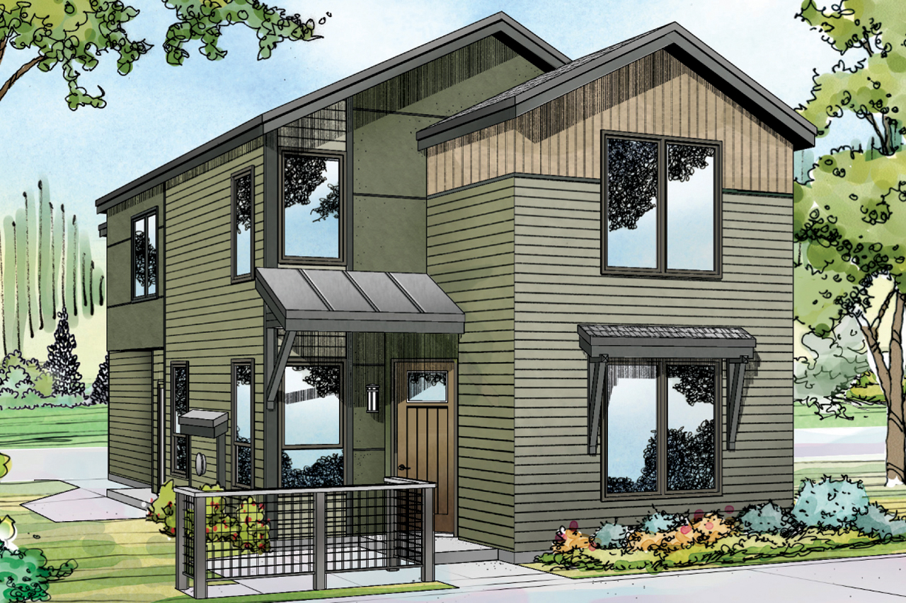 Contemporary House Plans smartness ideas modern home designs home design plans designs are contemporary home designcontemporary house Contemporary House Plan Merino 30 953 Front Elevation