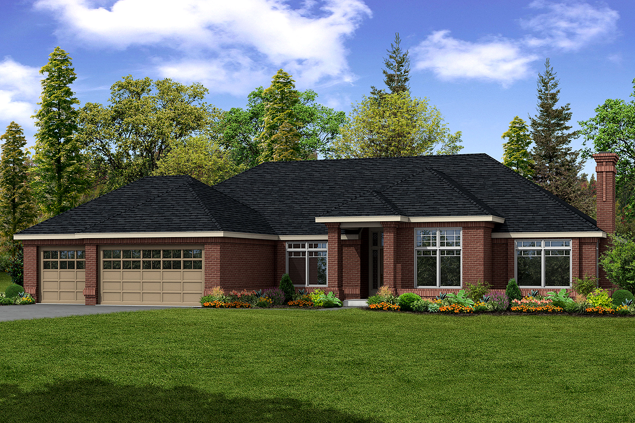 Contemporary House Plan, Home Plan, Featured House Plan of the Week, Westbrook 30-065