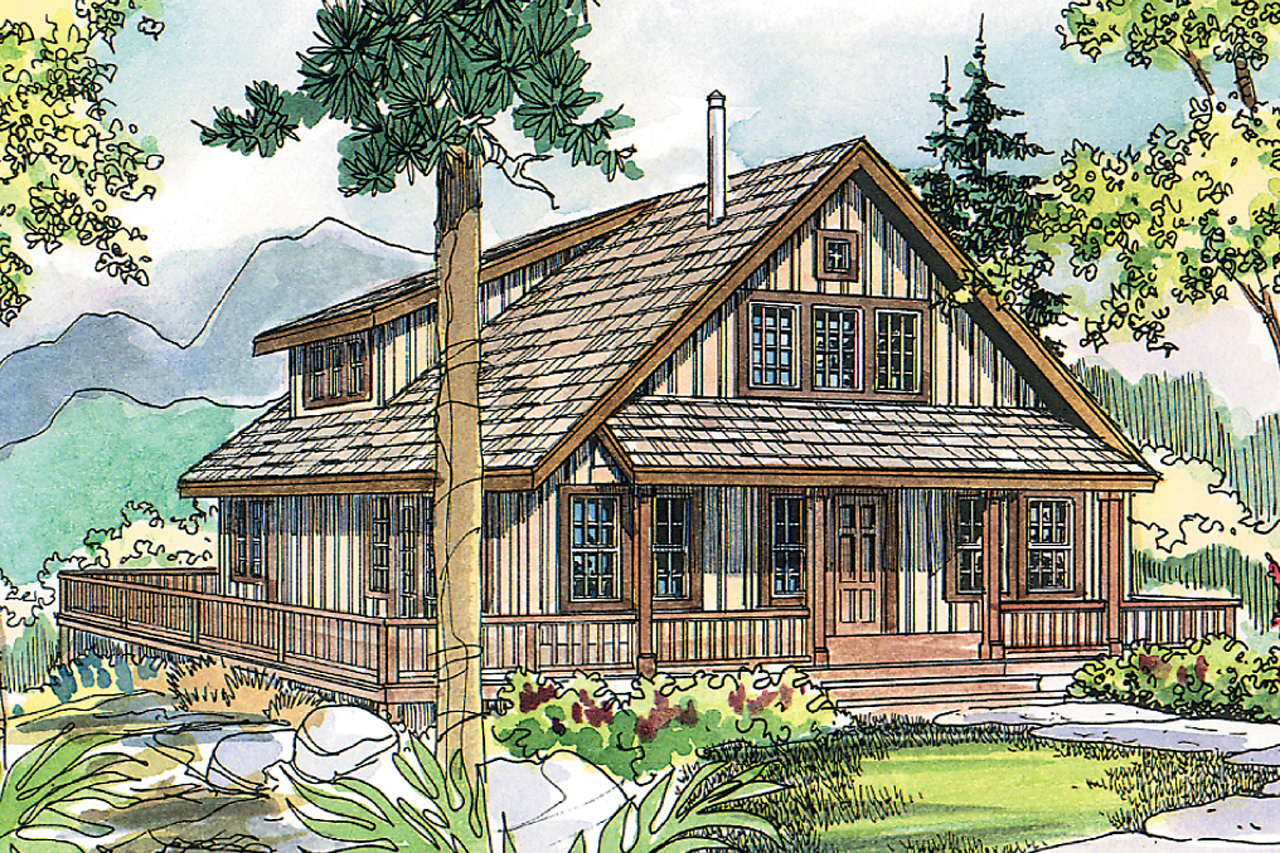 The arden is a vacation cottage home plan associated designs for Summer cottage house plans