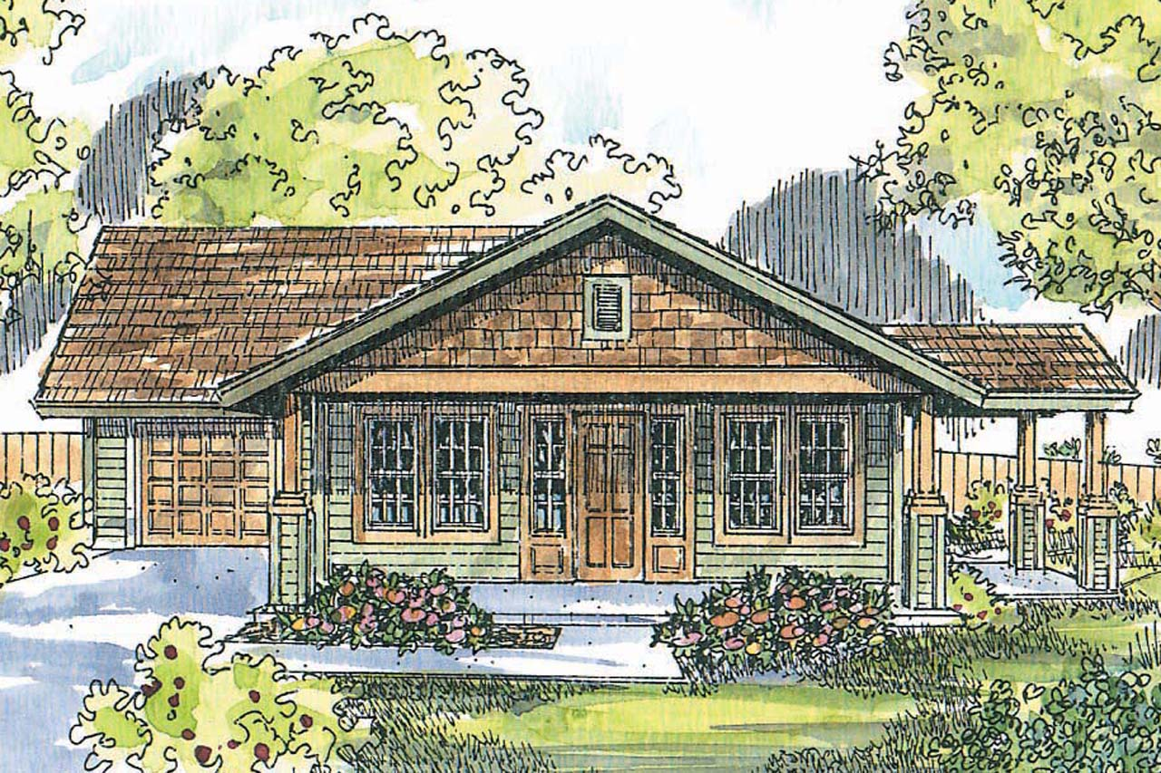 Cottage house plans branell 30 485 associated designs for Cottage home plans
