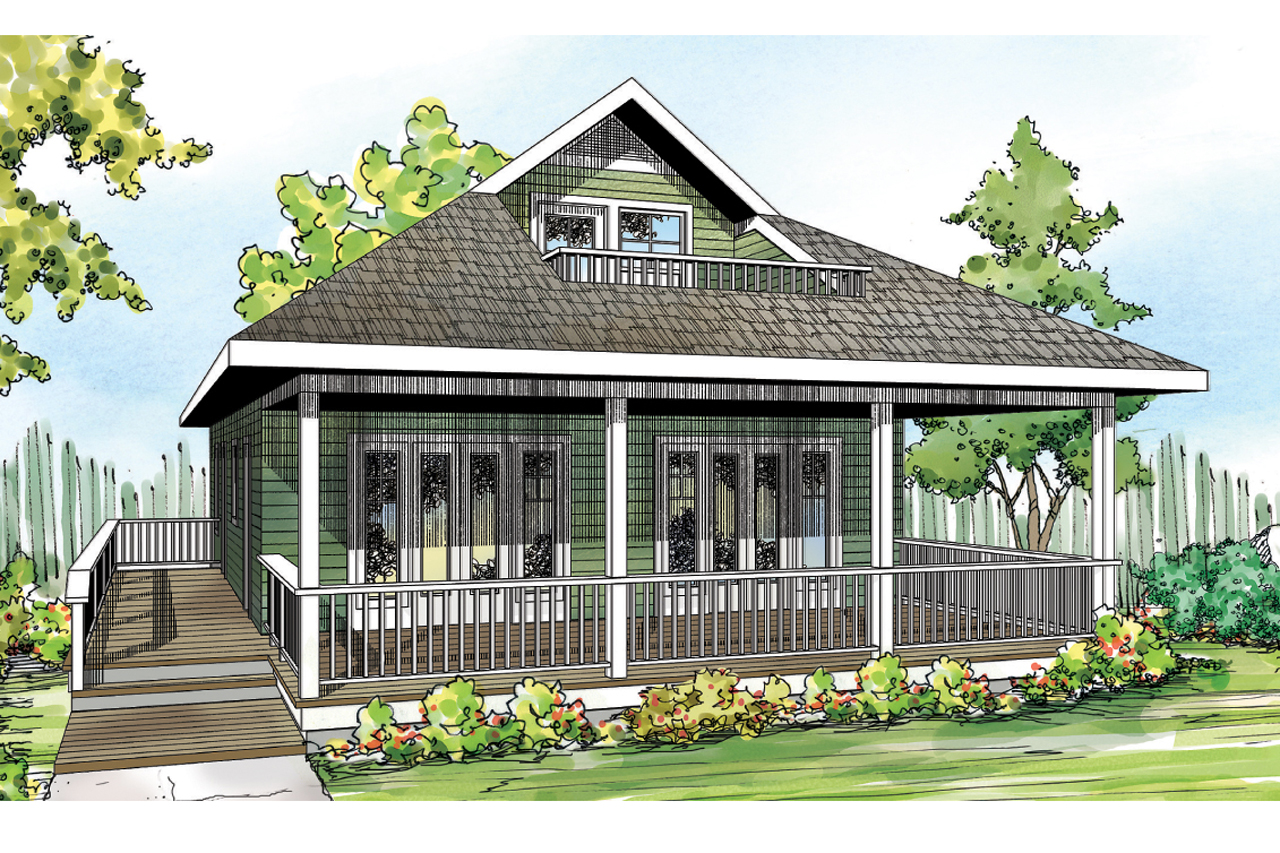 Cottage House Plan   Lyndon 30 769   Front Elevation