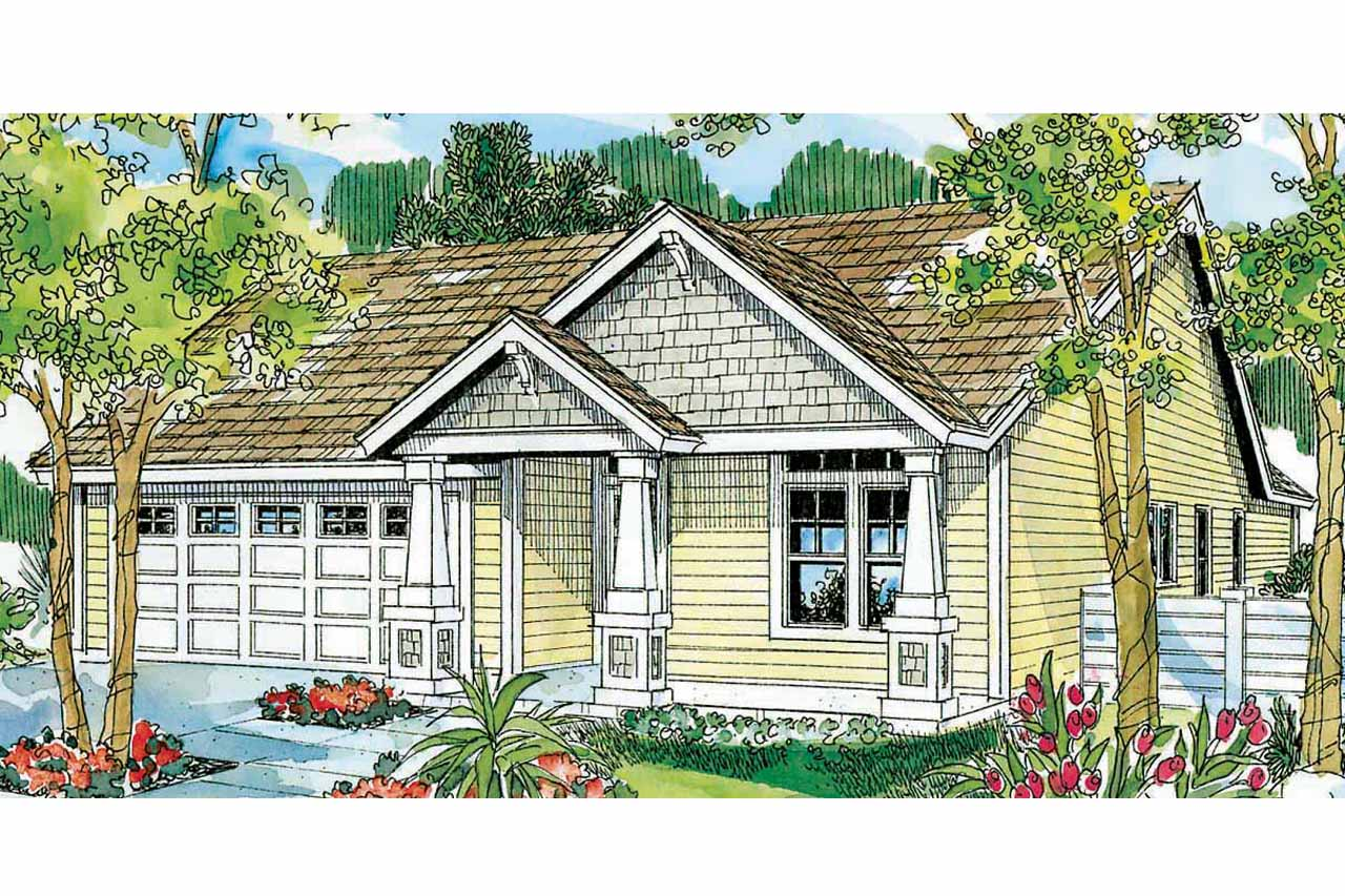 Cottage house plans preston 30 675 associated designs for Bungalow plans and elevations