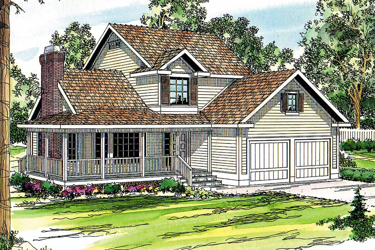 Country House Plan, Home Plan, Featured House Plan of  the Week, Bristol 10-184