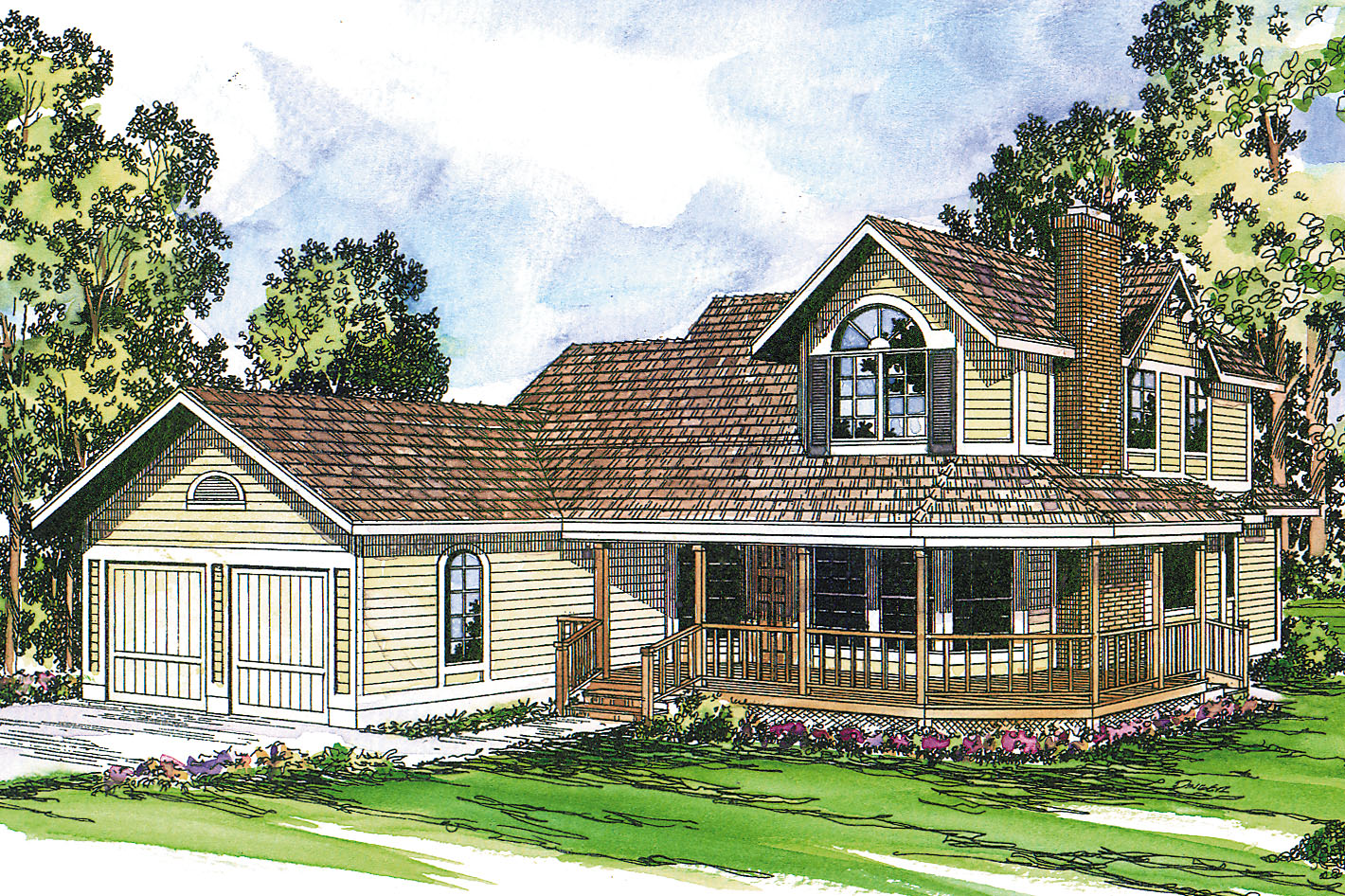 Featured House Plan of the Week, Country House Plan, Home Plan, Corbin 10-020