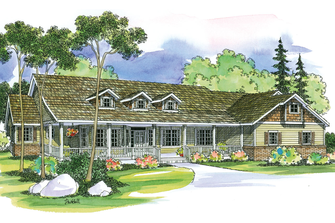 Featured House Plan of the Week, Hillrose 30-269, Country House Plan, Ranch Home Plan