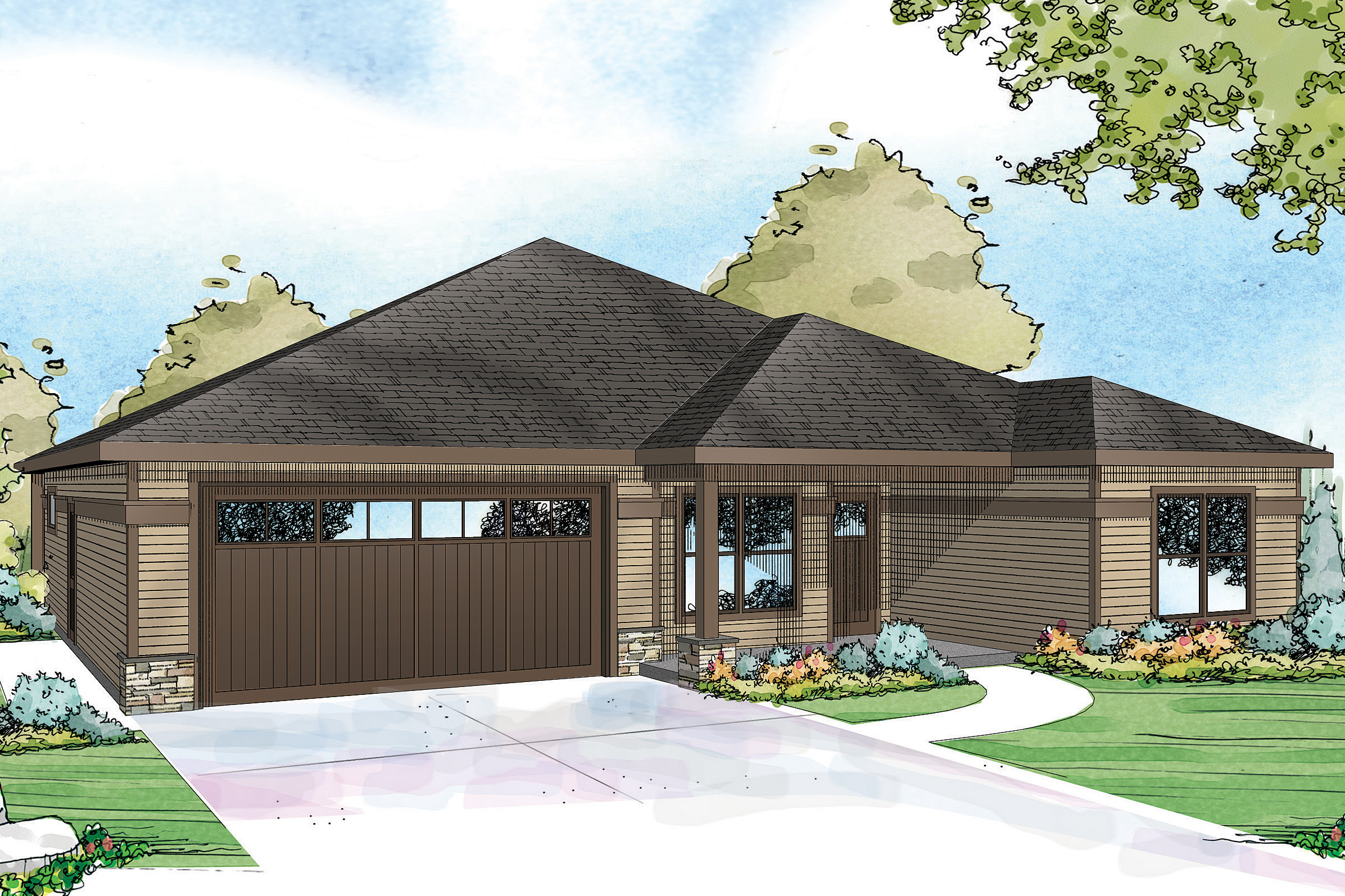 Country house plans westfall 30 944 associated designs House layout design