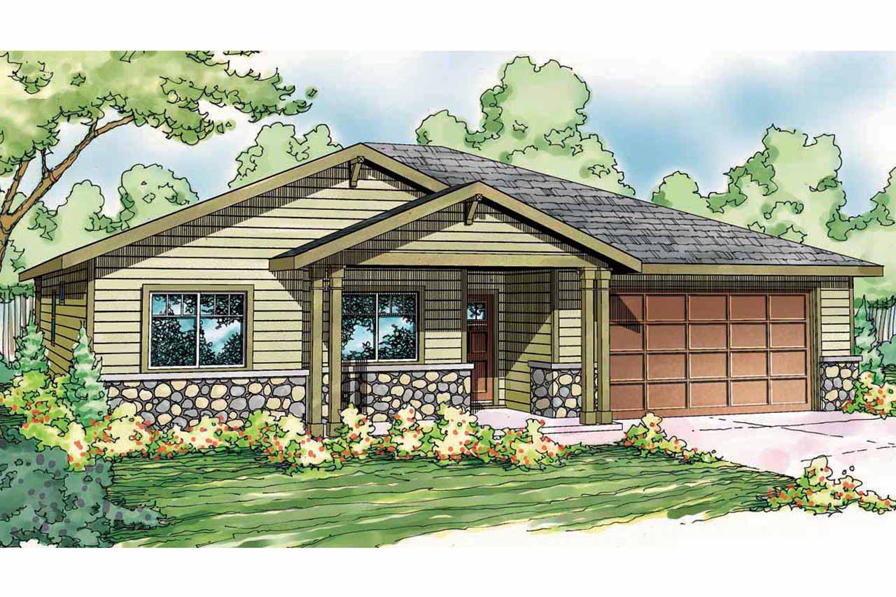 Craftsman house plans bandon 30 758 associated designs for Best selling craftsman house plans