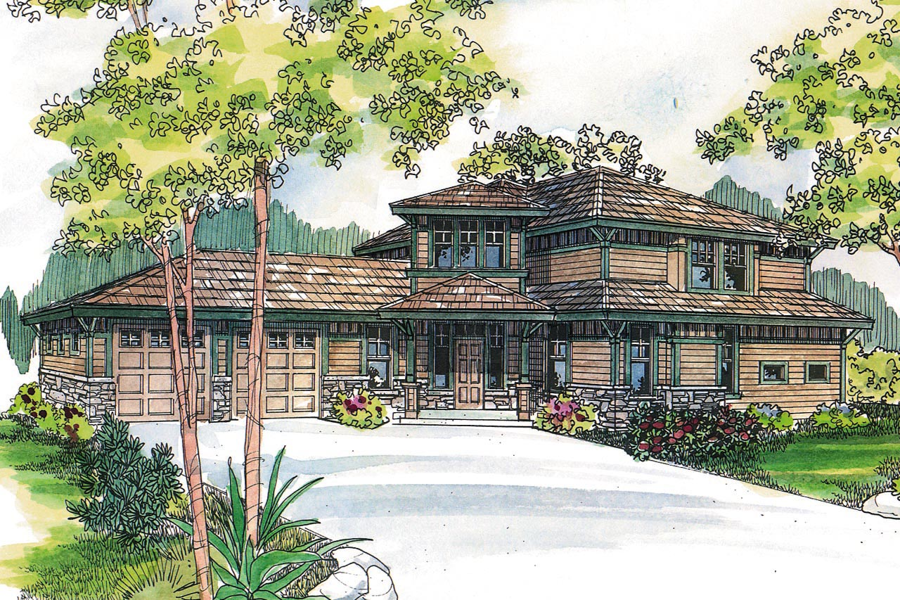 Craftsman House Plan, Home Plan, Bowman 30-315, Featured House Plan of the Week