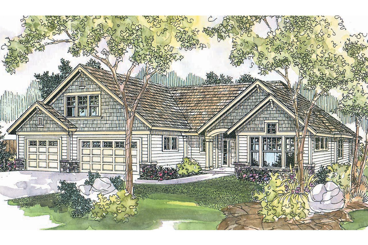 Craftsman house plans cauldwell 30 509 associated designs for Best selling craftsman house plans