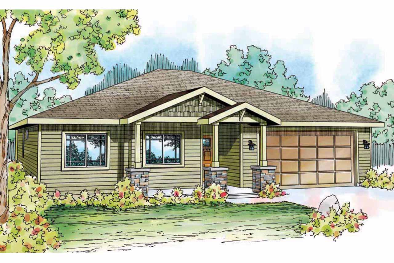 House Plan Small Home Design: Craftsman House Plans