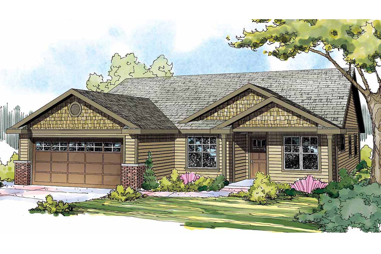 Craftsman house plans easthaven 30 778 associated designs for Best selling craftsman house plans