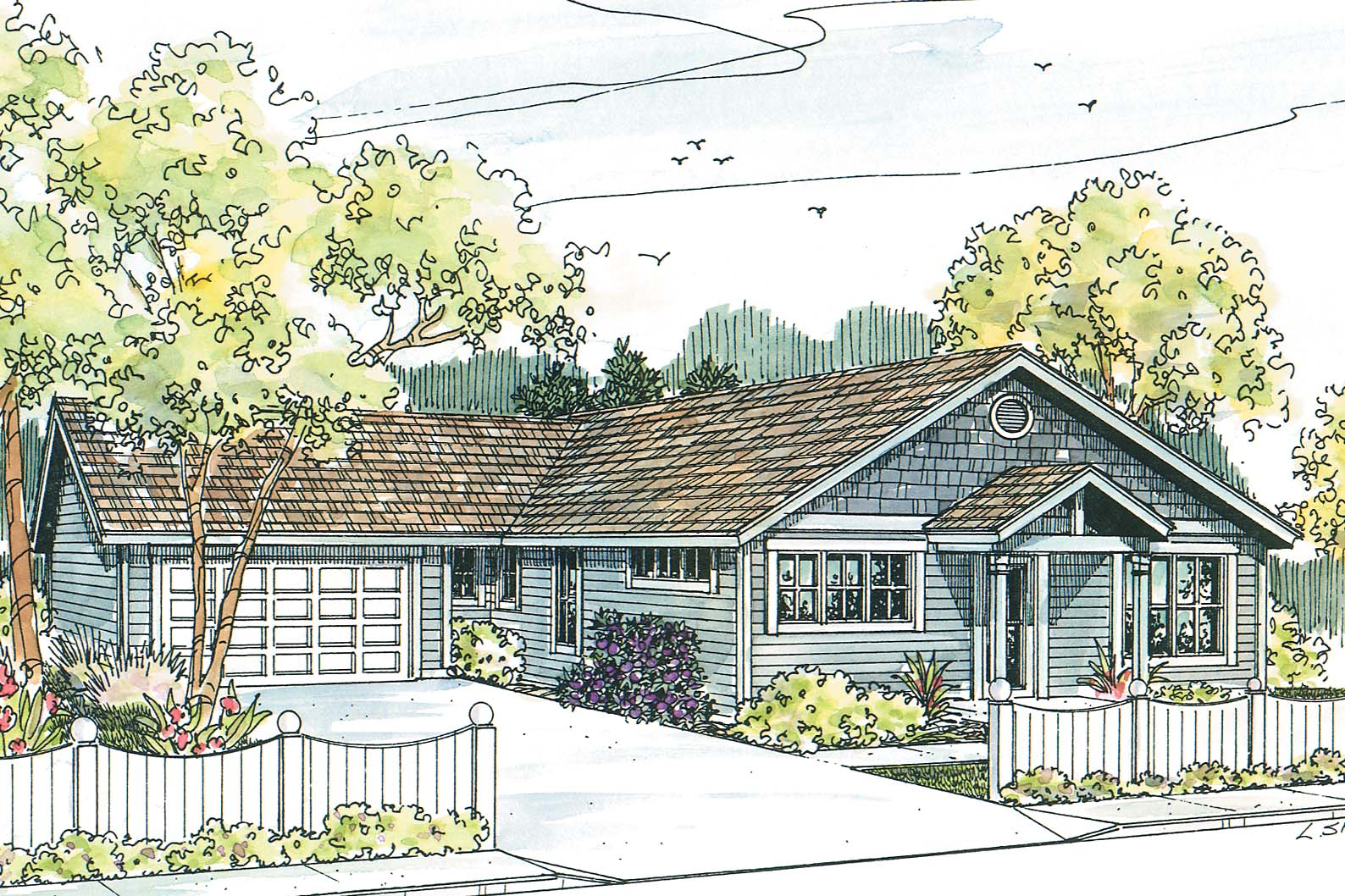 Craftsman House Plan, Featured House Plan of the Week, Evelyn 30-480