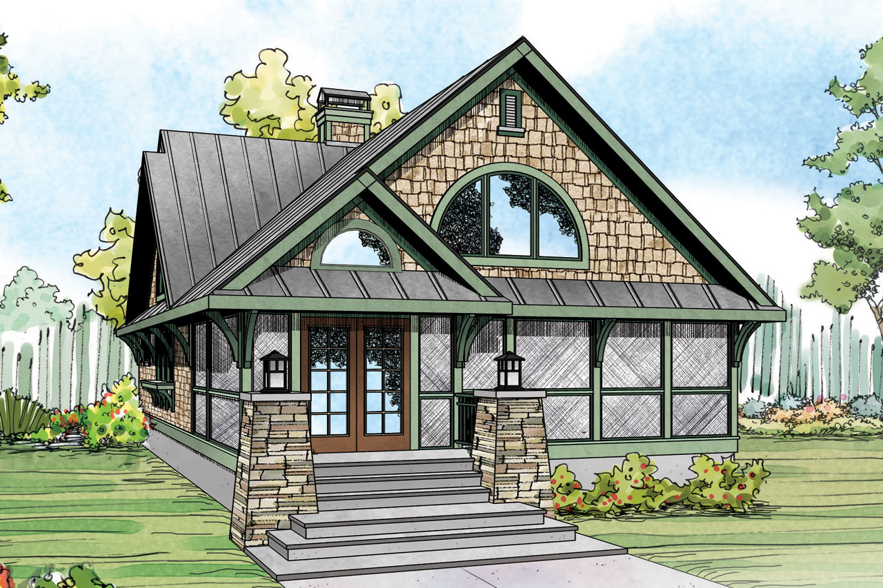 Craftsman House Plans - Glen Eden 50-017 - Associated Designs