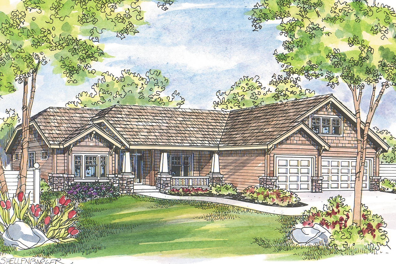 Craftsman house plans grayson 30 305 associated designs for Craftman house plans