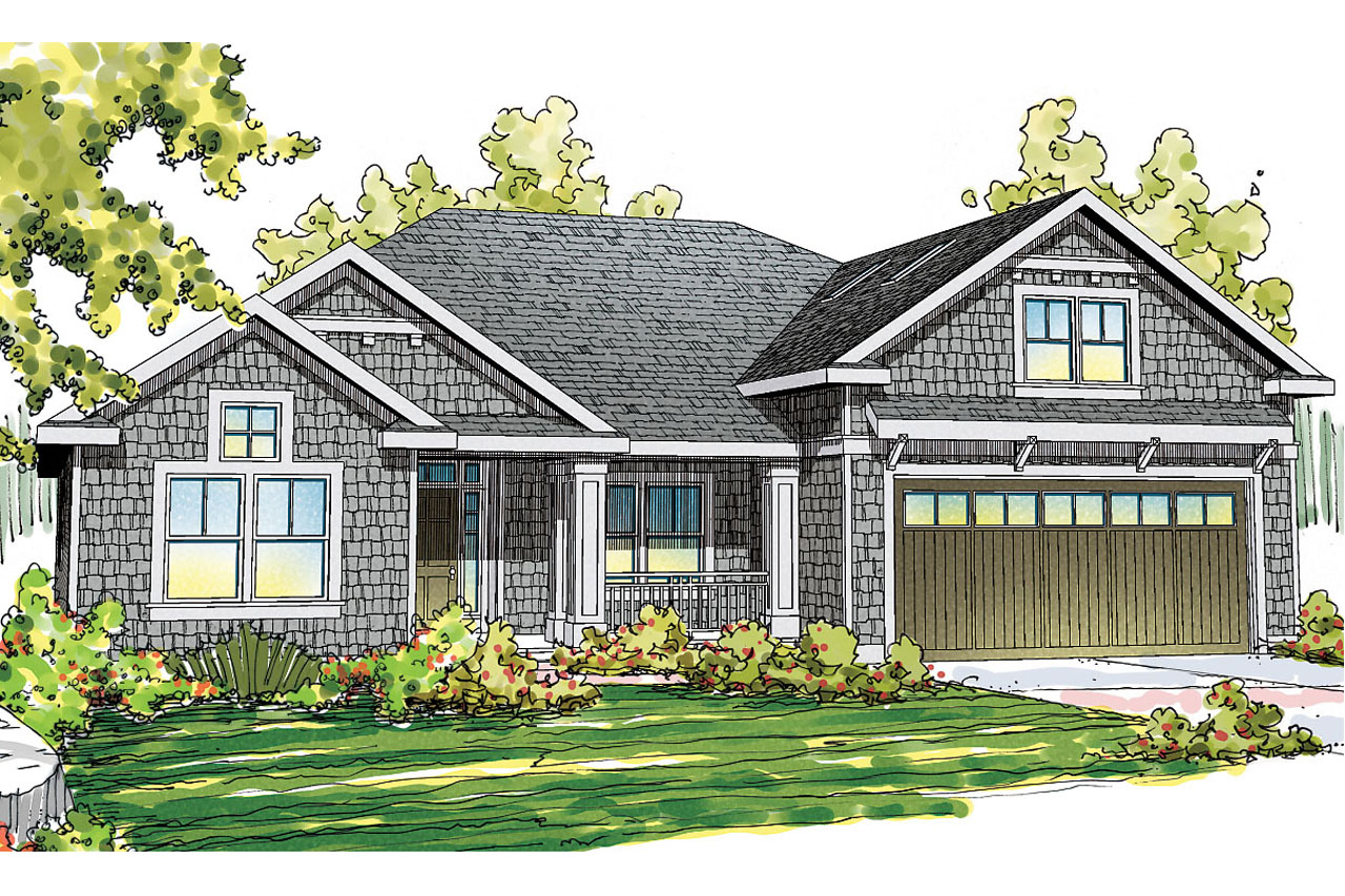 Craftsman house plans greenleaf 70 002 associated designs for Craftsman cottage home plans
