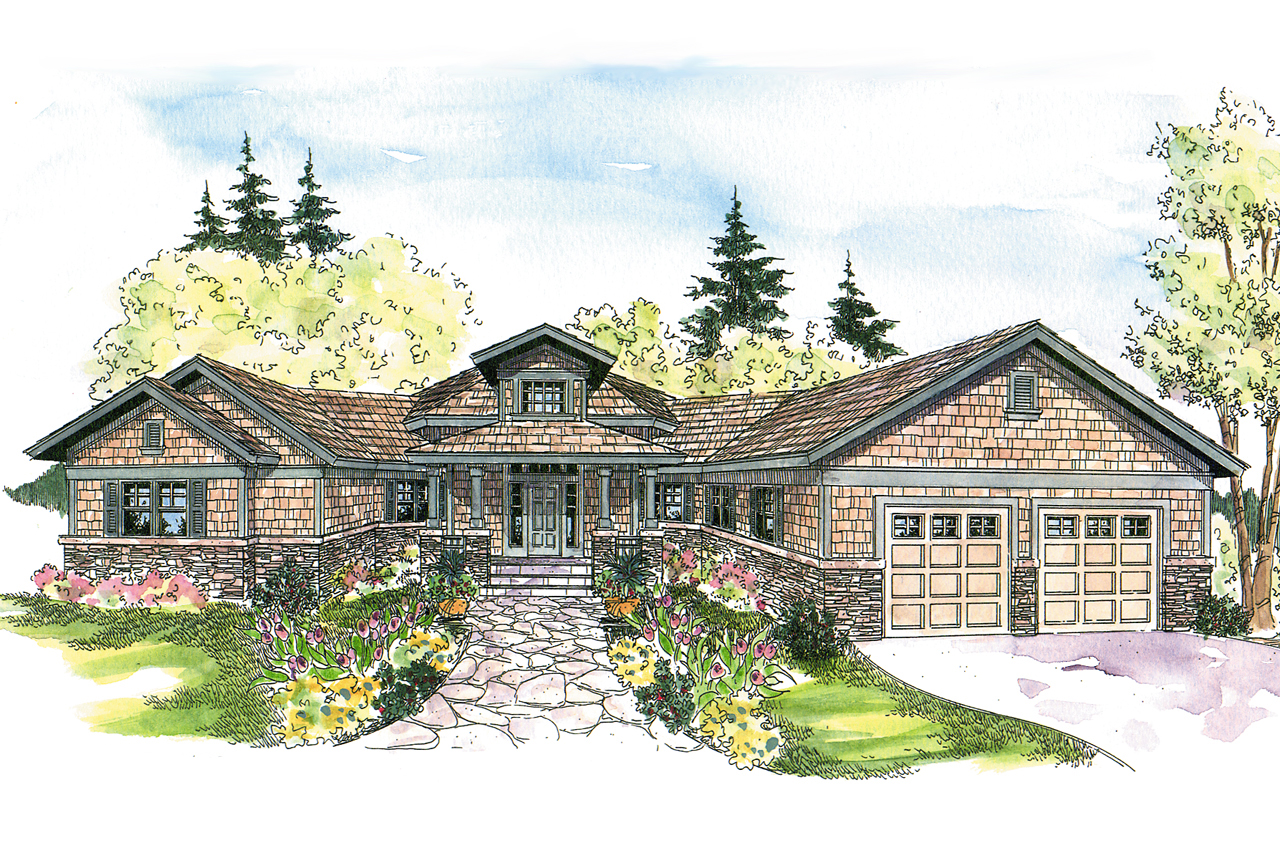 Craftsman house plans heartcrest 10 526 associated designs for Best selling craftsman house plans