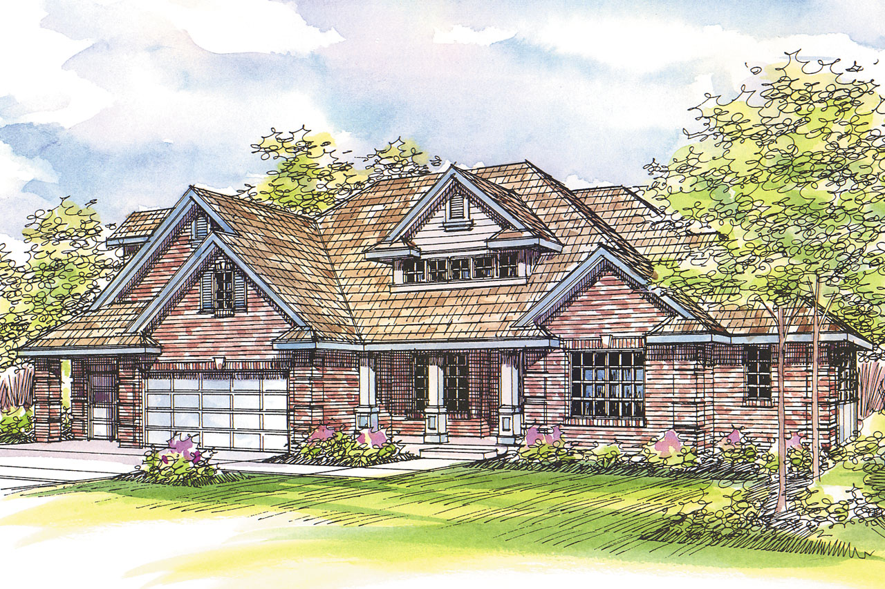 Craftsman house plans hearthside 10 350 associated designs for Best selling craftsman house plans