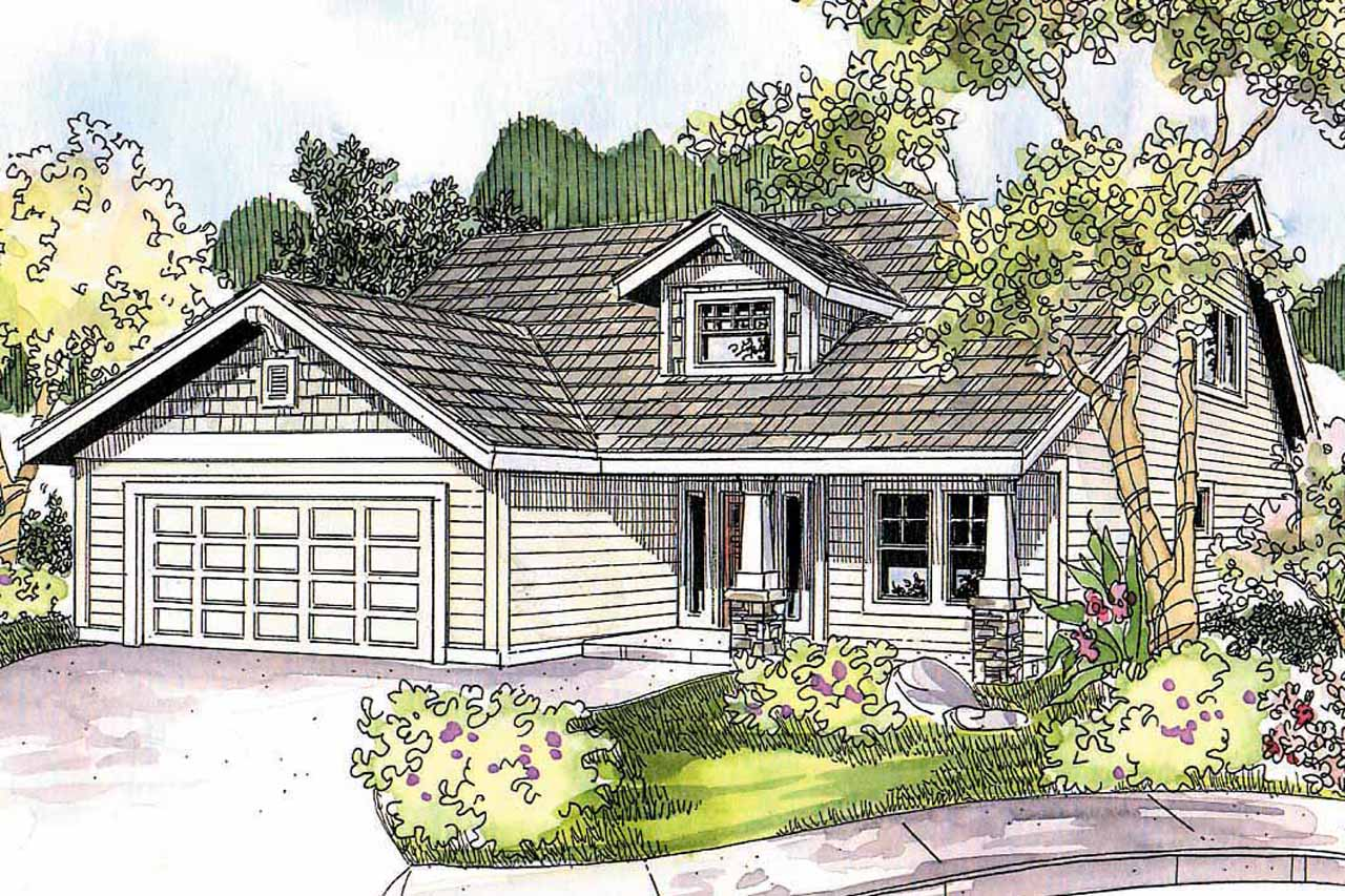 Craftsman House Plans Holshire 30 635 Associated Designs