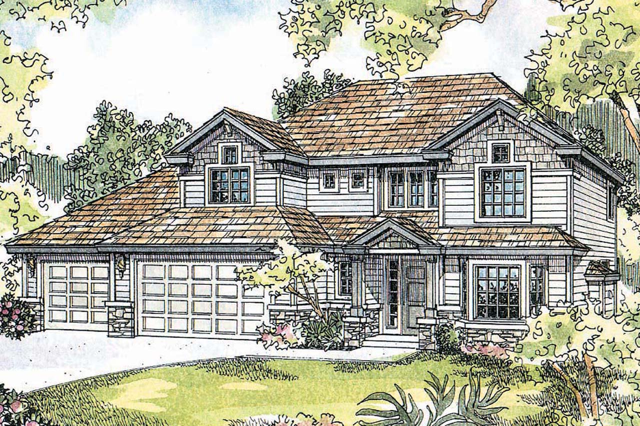 Craftsman house plans masterson 30 455 associated designs for Best selling craftsman house plans
