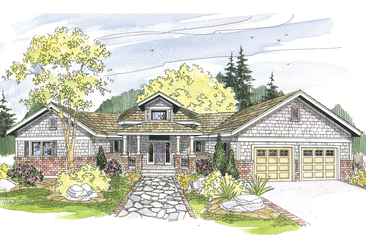 Craftsman house plans mccarren 10 509 associated designs for Best selling craftsman house plans