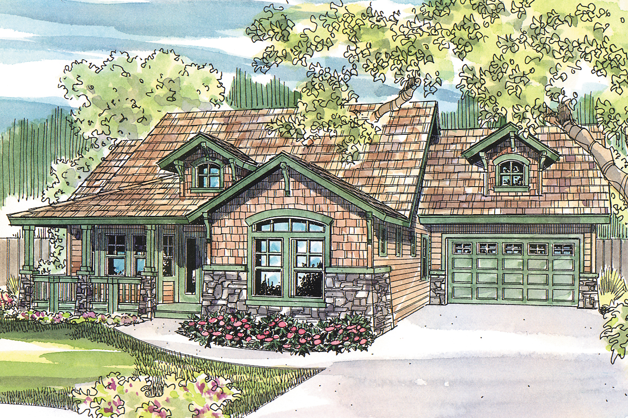 Featured House Plan of the Week, Craftsman House Plan, Home Plan, River Glen 30-223