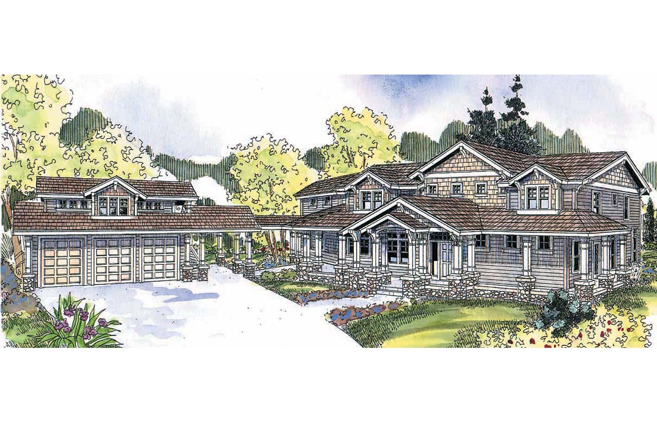 Craftsman house plans summerfield 30 611 associated for Craftsman house floor plans
