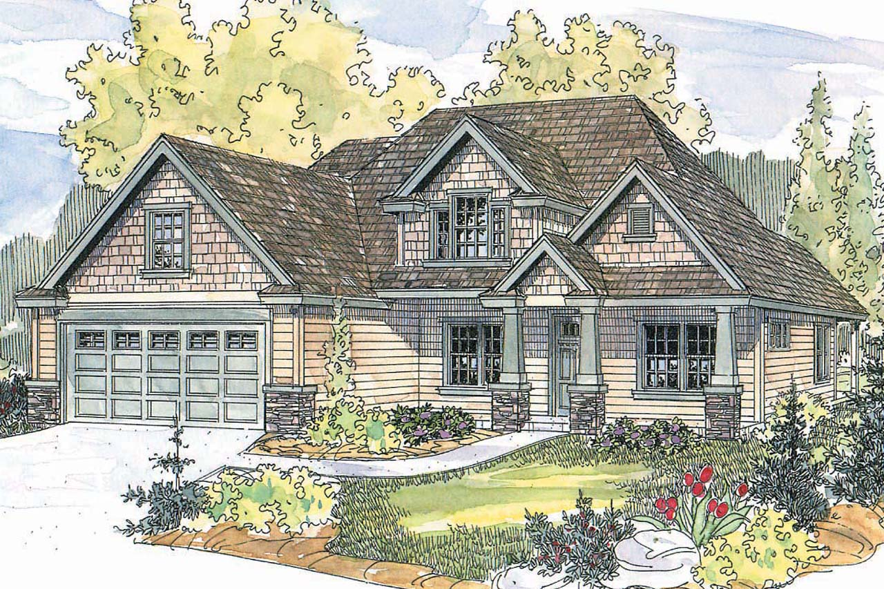 Featured House Plan of the Week, Craftsman House Plan, Craftsman Home Plan, Wilsonville 30-517