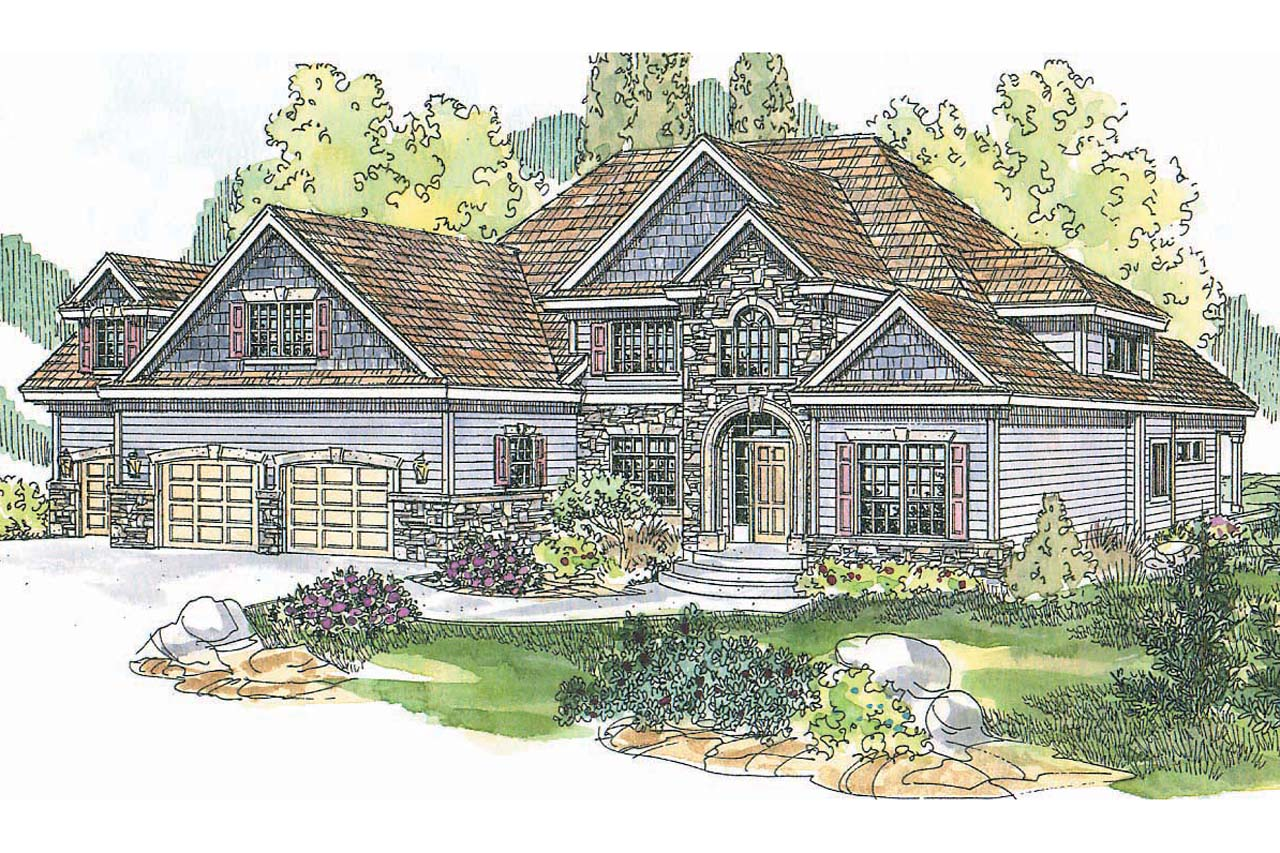 European House Plans - Yorkshire 30-505 - ociated Designs on hillside home designs, new floor plans, latest building designs, modern front house elevation designs, new building design, new home designs, new england colonial homes, european house designs, new architecture design,