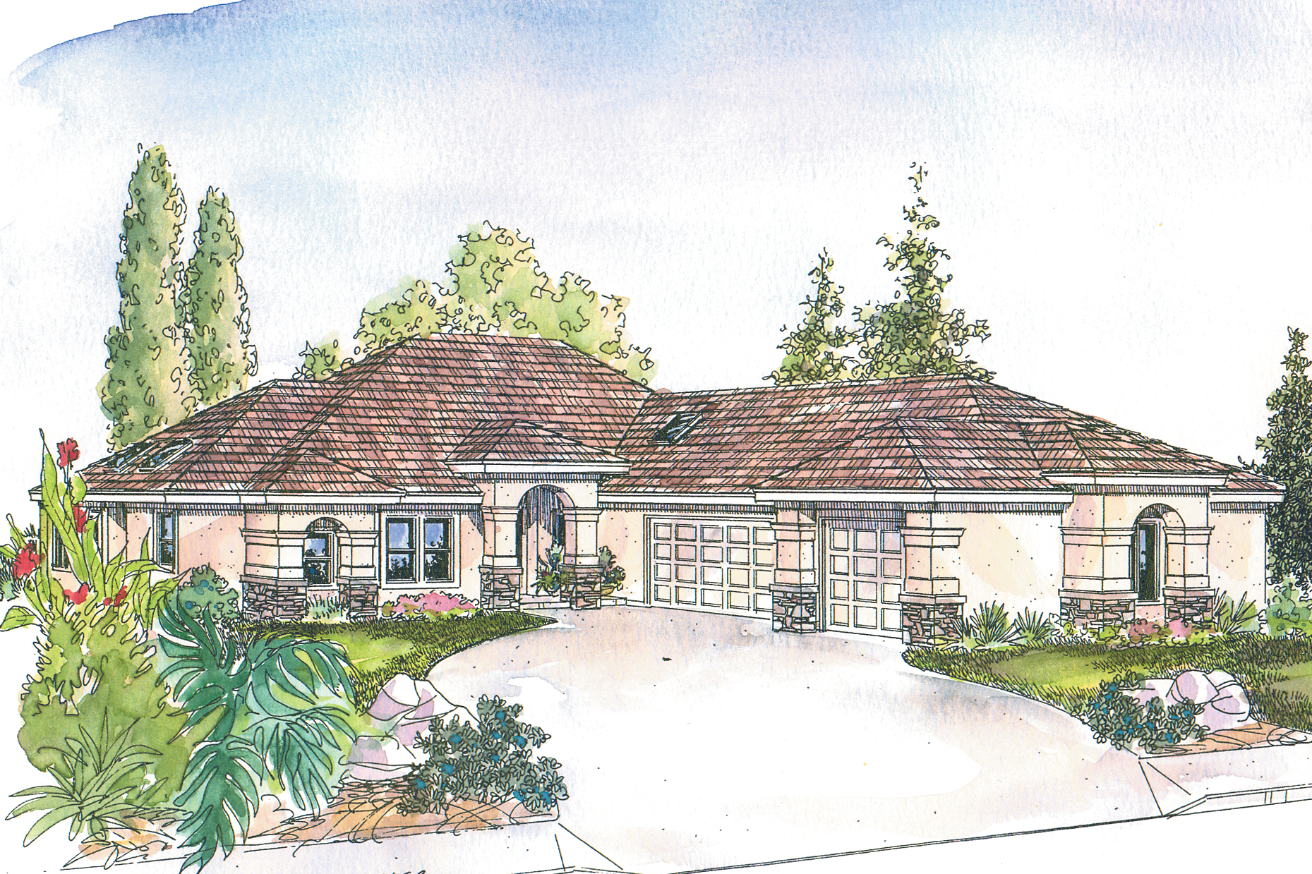 Florida house plans suncrest 30 499 associated designs for Florida house designs