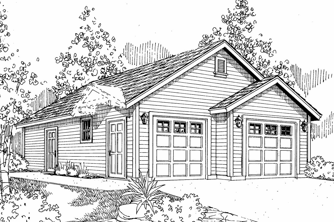 Room Colors And Traditional House Plans Garage Shop Associated Designs