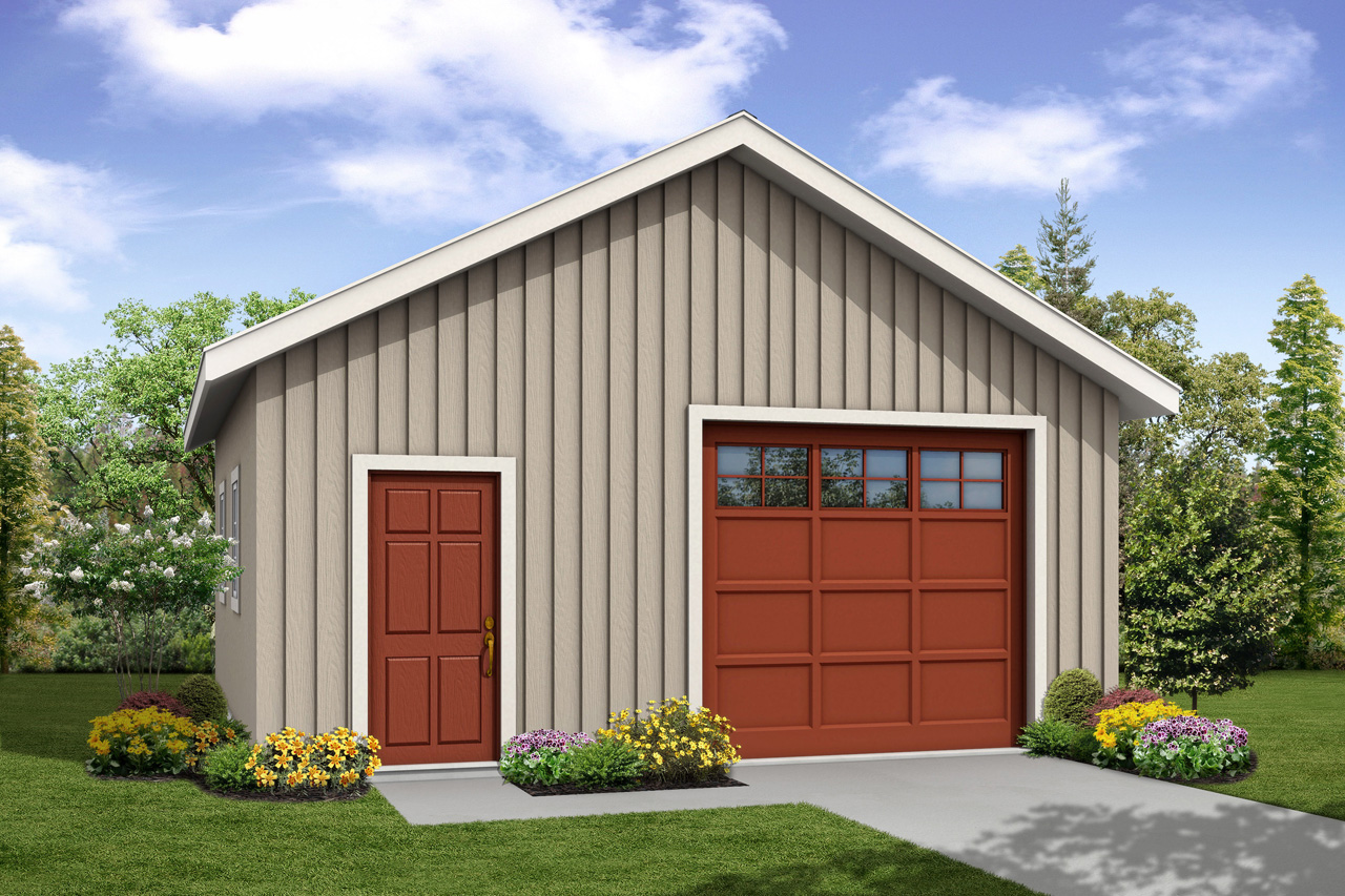 New Garage Plan, Garage Design, Garage with Shop