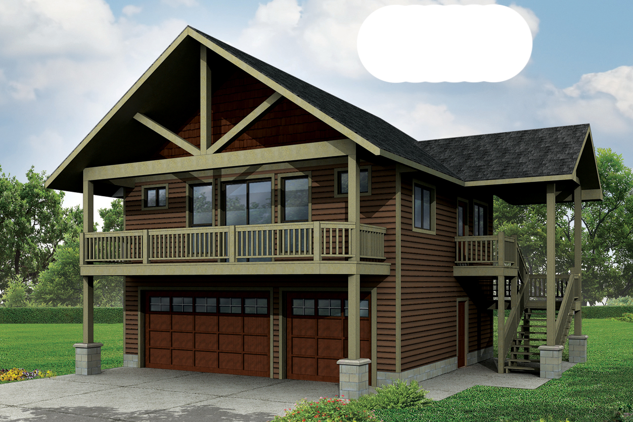 6 new garage plans now available associated designs for Garage apartment packages