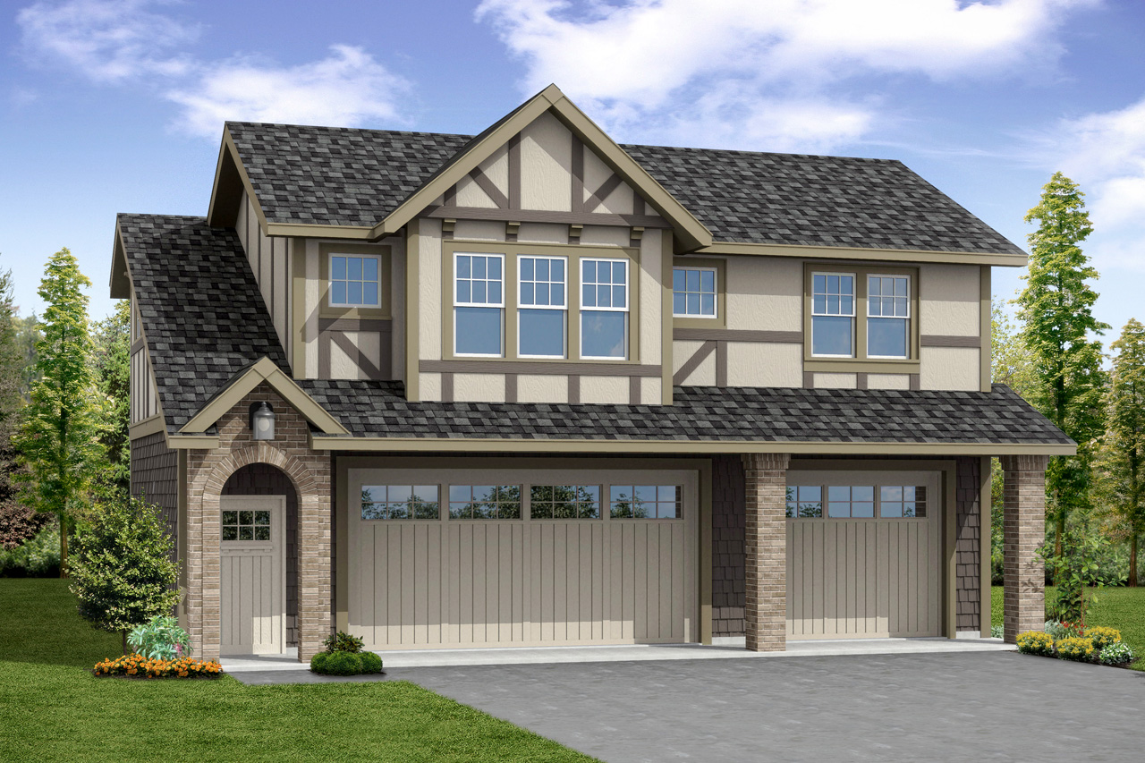 New Garage Plan, Garage Design, Garage Plan with Living Space