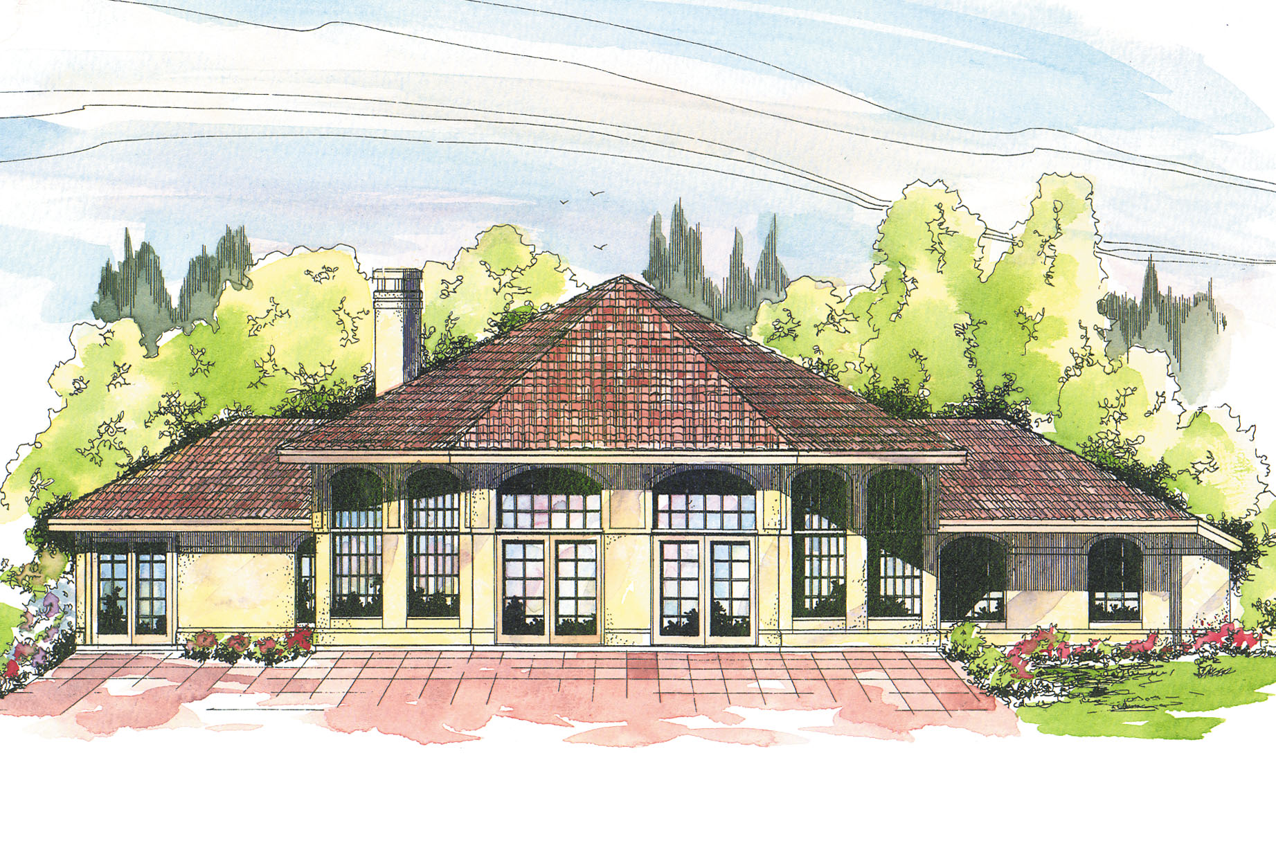 Southwest house plans oakland 10 037 associated designs for House plan and design images