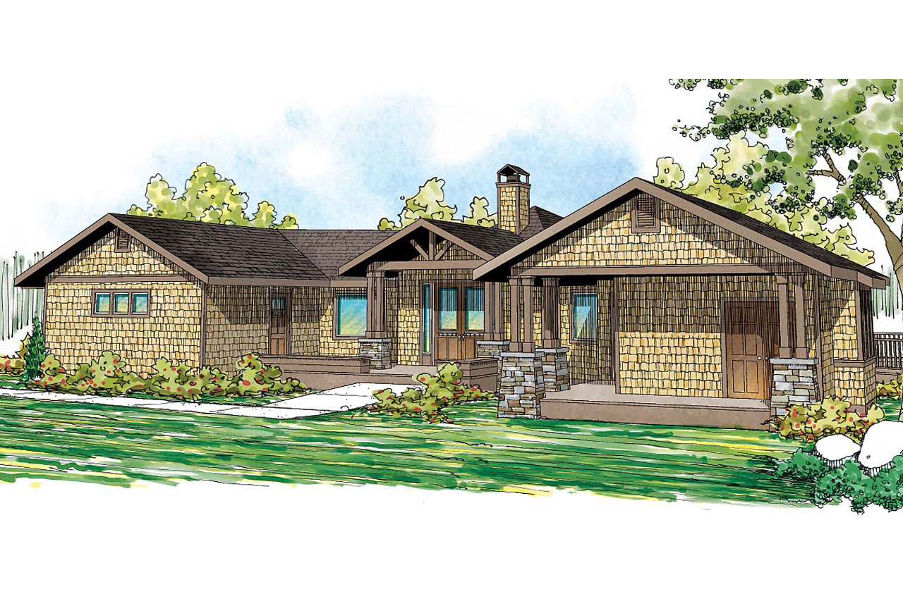 Lodge style house plans sandpoint 10 565 associated for Cabin style home plans