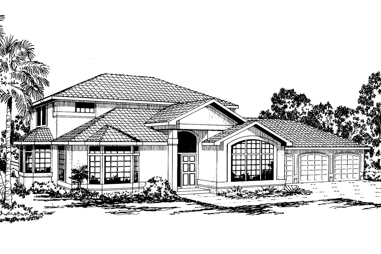 Southwest house plans southwestern house plans for Southwest home plans