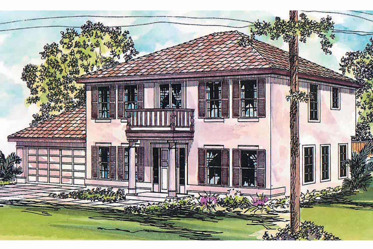 Mediterranean house plans houston 11 044 associated for Home plans with pictures