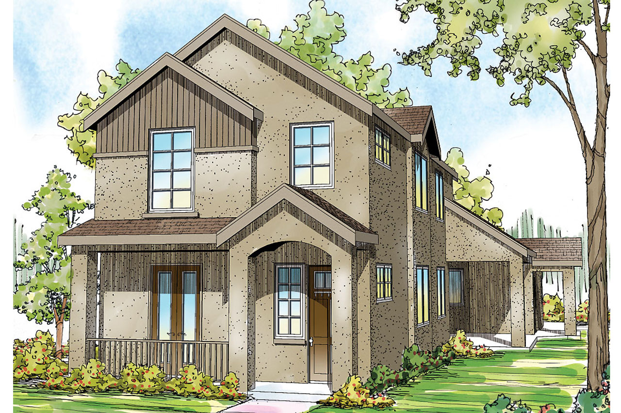 Mediterranean house plans rimrock 30 817 associated for Hous plans