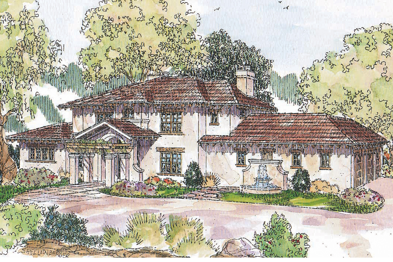 Mediterranean house plans vercelli 30 491 associated designs Mediterranean home design ideas