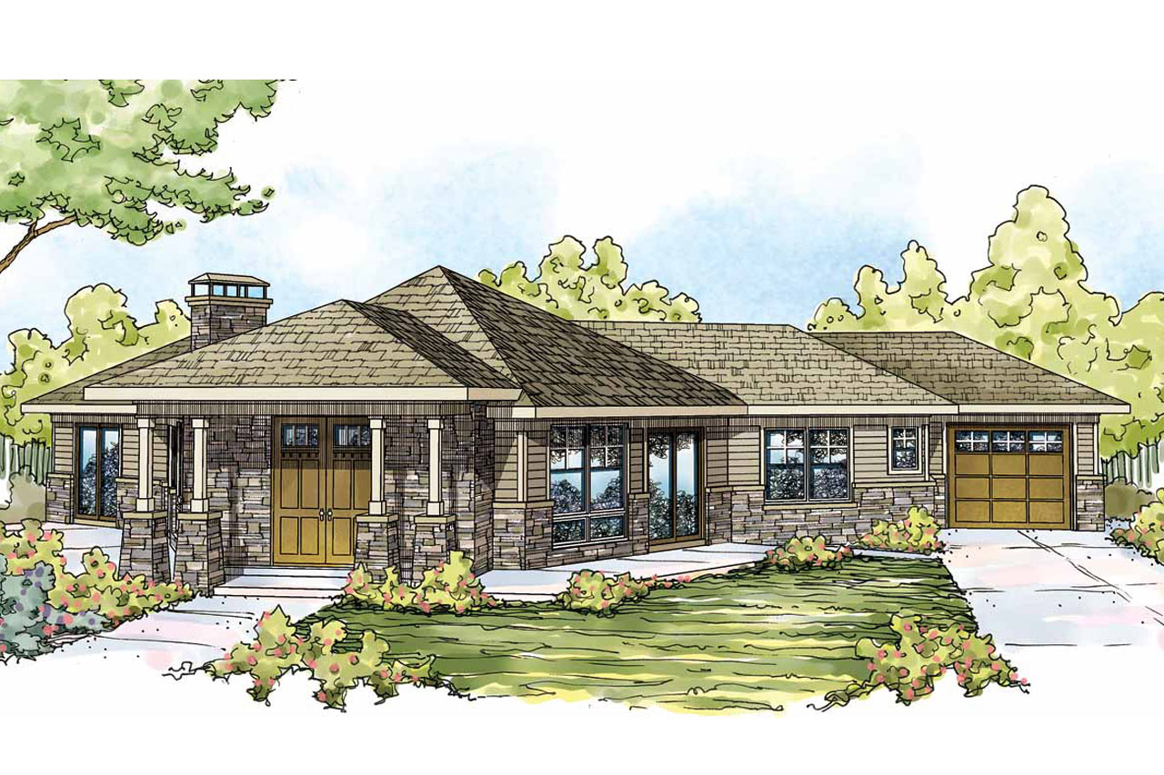Prairie style house plans baltimore 10 554 associated for Prairie style house plans