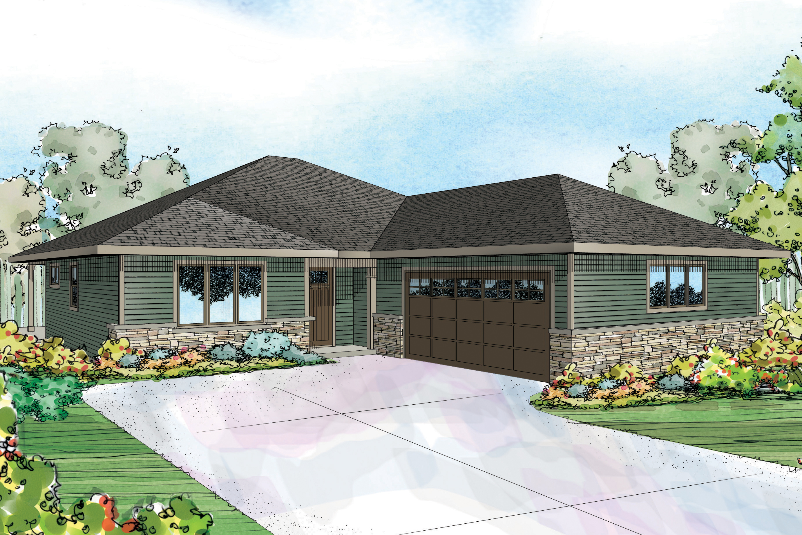 prairie_style_house_plan_denver_30 952_front