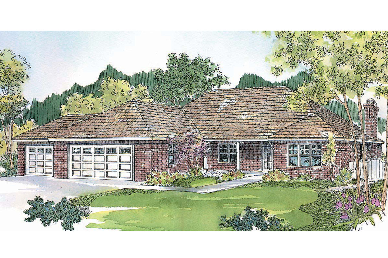 Prairie Style House Plans Heartshaven 10 525