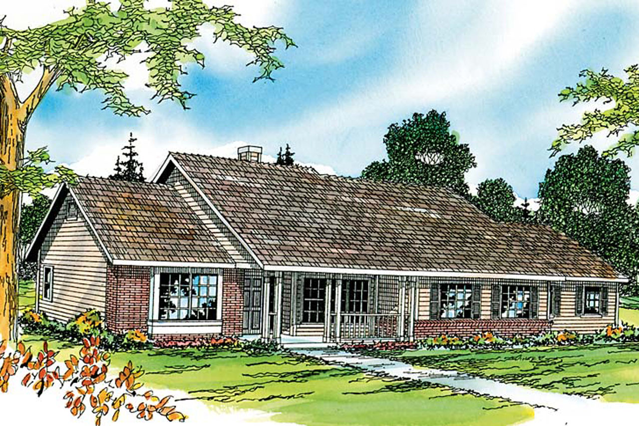 Raised ranch front porch ideas joy studio design gallery for Ranch house blueprints