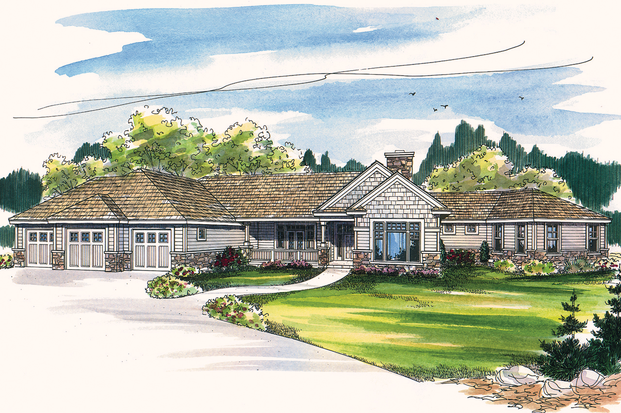 Featured House Plan of the Week, Bellewood 30-292, Ranch House Plan, Home Plan