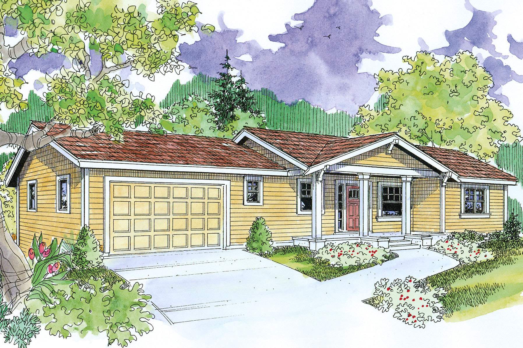 ranch_house_plan_gatsby_30-664_front_0 Ranch House Design Plans on