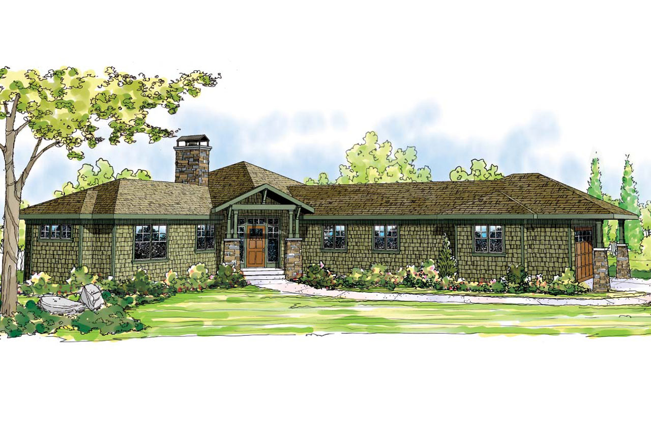 Ranch House Plans Heartview 50 015 Associated Designs
