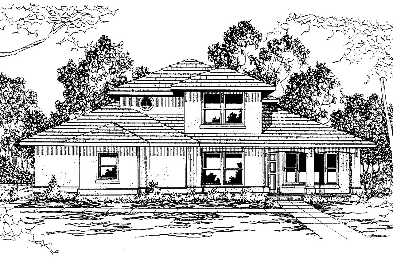 Southwest house plans augusta 30 082 associated designs for Designer homes augusta ga