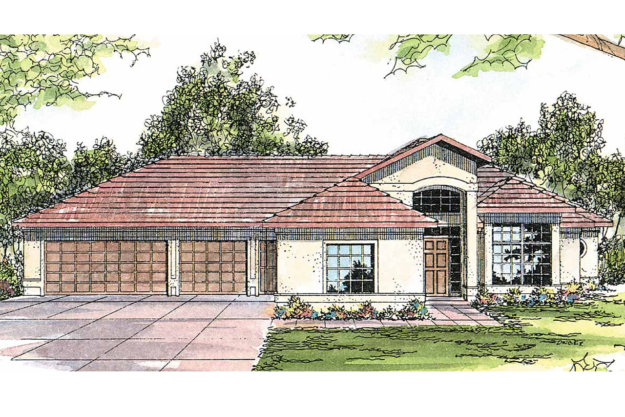 Southwest house plans medina 10 188 associated designs for Southwest style house plans